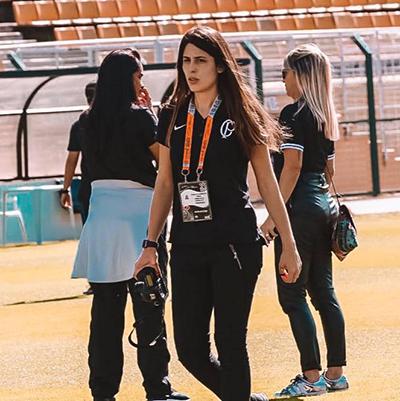 Camila Galimberti Gozzi, coordenadora da equipe feminina | Facebook